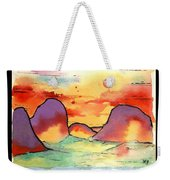 Abstract Landscape 006 Weekender Tote Bag