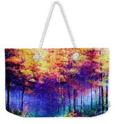 Abstract Landscape 0830a Weekender Tote Bag