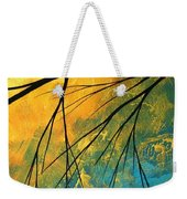 Abstract Landscape Art Passing Beauty 2 Of 5 Weekender Tote Bag