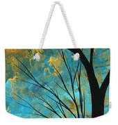 Abstract Landscape Art Passing Beauty 3 Of 5 Weekender Tote Bag