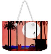 Abstract Landscape Beach Art 3 - By Diana Van Weekender Tote Bag