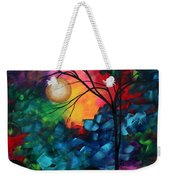 Abstract Landscape Bold Colorful Painting Weekender Tote Bag by Megan Duncanson