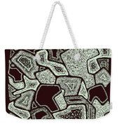 Abstract Landscape - Hand Drawn Pattern Weekender Tote Bag
