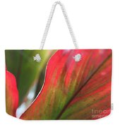 Abstract Leaves Weekender Tote Bag
