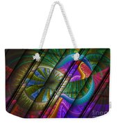 Abstract Levels Of Color Weekender Tote Bag