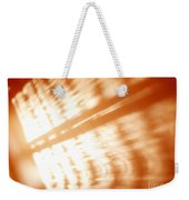 Abstract Light Rays Weekender Tote Bag