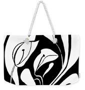 Abstract Lilies Weekender Tote Bag