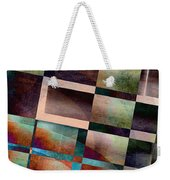 Abstract Lines And Shapes Weekender Tote Bag