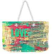 Abstract Love V2 Weekender Tote Bag