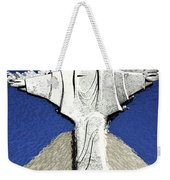 Abstract Lutheran Cross 5a Weekender Tote Bag