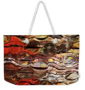 Abstract Magnified Lines Weekender Tote Bag