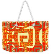 Abstract Maze Weekender Tote Bag