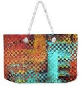 Abstract Modern Art - Pieces 1 - Sharon Cummings Weekender Tote Bag