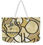 Funky Monkey - Zeeko Abstract Monkey Weekender Tote Bag