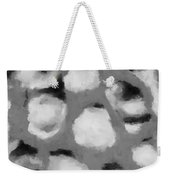 Abstract Monochome 152 Weekender Tote Bag