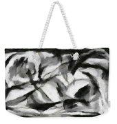 Abstract Monochome 156 Weekender Tote Bag