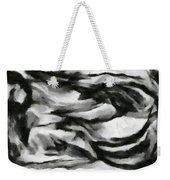 Abstract Monochome 162 Weekender Tote Bag
