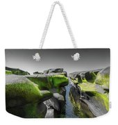 Abstract Mood Selective Color Weekender Tote Bag