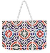 Abstract Moroccon Tiles Colorful Weekender Tote Bag