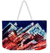 Abstract Mountains Weekender Tote Bag