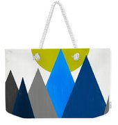 Abstract Mountains Landscape Weekender Tote Bag