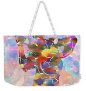 Abstract Musican Guitarist Weekender Tote Bag