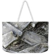 Abstract Nature Tropical Palm Tree Bark 1873a Weekender Tote Bag