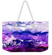 Abstract Ocean Fantasy One Weekender Tote Bag