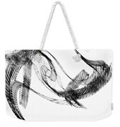 Abstract Of Dolphins In Courting Ritual Weekender Tote Bag
