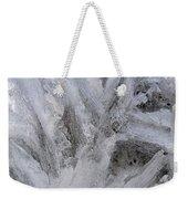 Abstract Of Ice Weekender Tote Bag