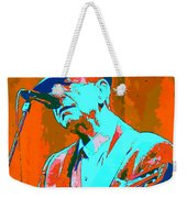 Abstract Of Leonard Cohen Weekender Tote Bag