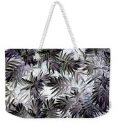 Abstract Of Low Growing Evergreen Shrub Weekender Tote Bag