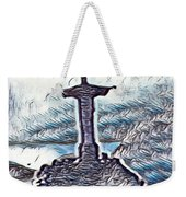 Abstract Of Our Saviour  Weekender Tote Bag