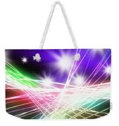 Abstract Of Stage Concert Lighting Weekender Tote Bag