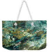 Abstract Of The Underwater World. Production By Nature Weekender Tote Bag