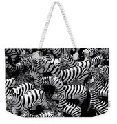 Abstract Of Zebras Statue In Various Sizes  Weekender Tote Bag