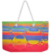 Abstract Oil And Water 7 Weekender Tote Bag