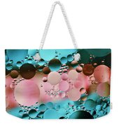 Abstract Oil And Water Weekender Tote Bag