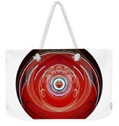 Abstract Old Car Framed Weekender Tote Bag