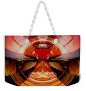 Abstract Old Car Spare Tire Weekender Tote Bag