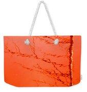 Abstract Orange Weekender Tote Bag
