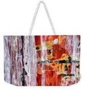 Abstract Painting Untitled #45 Weekender Tote Bag