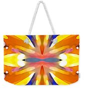 Abstract Paradise Weekender Tote Bag