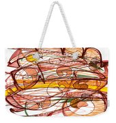 Abstract Pen Drawing Eight Weekender Tote Bag