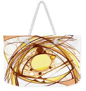 Abstract Pen Drawing Eleven Weekender Tote Bag