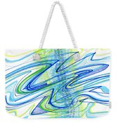 Abstract Pen Drawing Forty Weekender Tote Bag