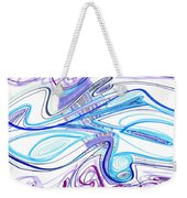 Abstract Pen Drawing Forty-two Weekender Tote Bag
