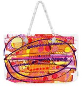 Abstract Pen Drawing Fourteen Weekender Tote Bag