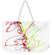 Abstract Pen Drawing Seventy Weekender Tote Bag