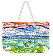 Abstract Pen Drawing Sixteen Weekender Tote Bag